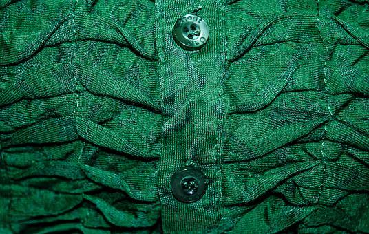 Textile, Blouse, Green, Buttons, Clothing, Fashion