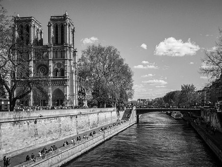 Notre Damme, Cathedral, France, Paris, City ​​center