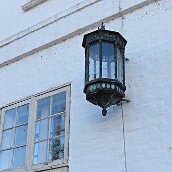 Lantern, Lamp, Old Light, On Closed Nordborg, Denmark
