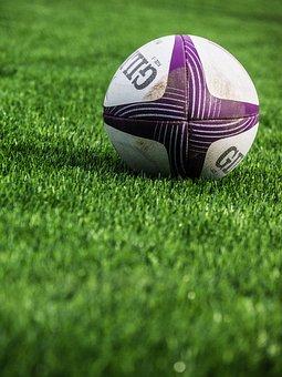 Rugby, Sport, Ball, Grass, Leisure, Green, Green Sports