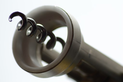 Corkscrew, Bottle Opener, Light, Shadow, Wine, Open