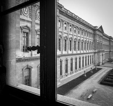Louvre, Museum, Louvre Museum, On, Date, Nostalgia