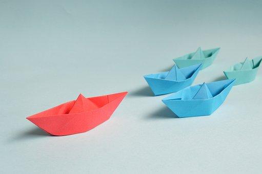 Career, Paper, Origami, Leader, Marina, Marine, Boat