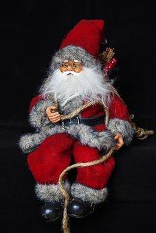 Santa Claus, Christmas, Santa, Mikuláš, Gifts
