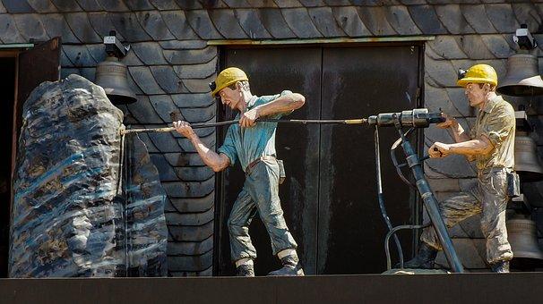 Mining, Modern, Carillon, Jackhammer, Pneumatic Drill