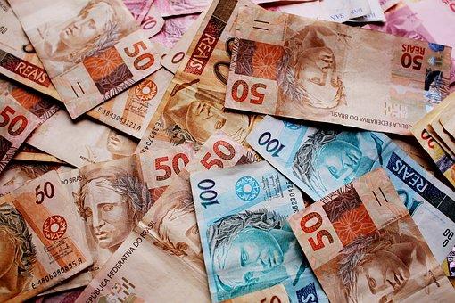 Ballots, Money, Real, Note, Brazilian Currency, Brazil