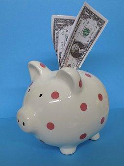 Piggy Bank, Pig, Bank, Financial, Savings, Save