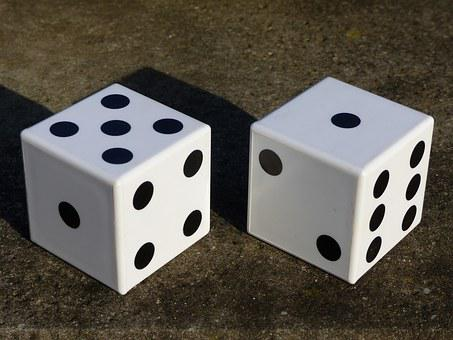 Cube, Game Cube, Points, White, Black