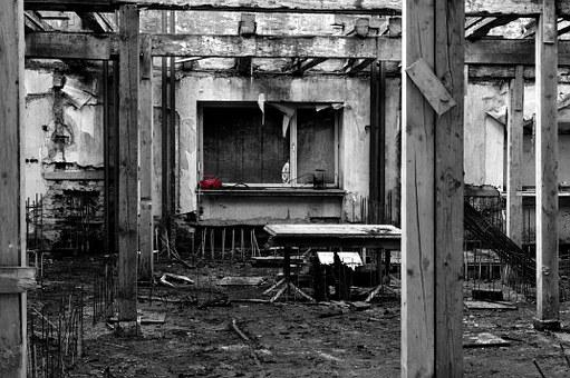 Black And White, Dot, Red, Radio, Site, Rehabilitation