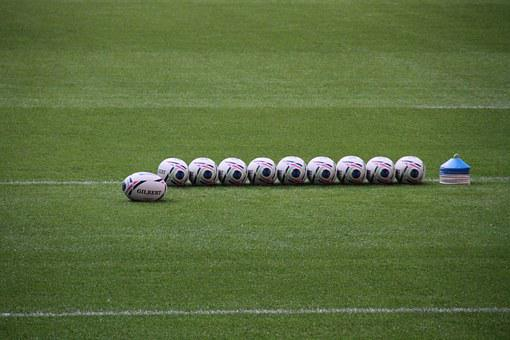 Rugby, Balls, World, Cup, Stadium, Sport, Wembley