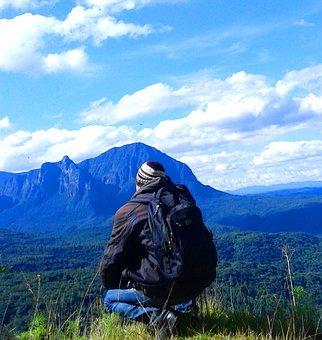Travel, Santa Catarina, Brazil, Man, Vision