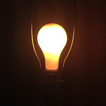 Idea, On, Light, Energy, Power, Lightbulb, Shine