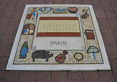 Spain, Rugby, Team Emblem, Sport, Football, Male, Team