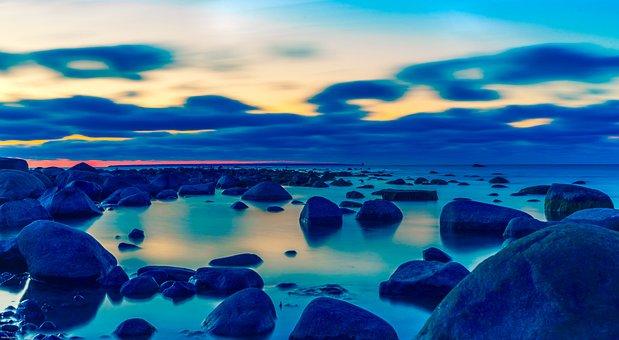 Background, The Baltic Sea, Beach, Beautiful, Beauty