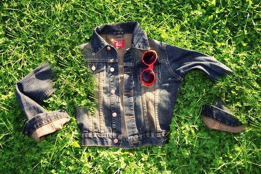Jacket, Denim, Garment, Clothing, Wardrobe, Wear