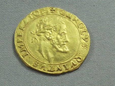 Ancient Currency, Gold, Carolingian