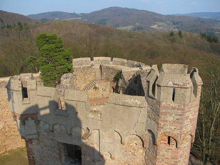 Germany, Landscape, Scenic, Auerback, Castle, Landmark