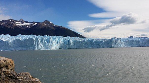 Glacier, Andes, El Calafate, Glacier Lake