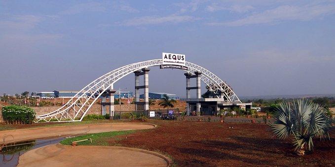 Aequs, Economic Zone, Manufacturing, Entrance Gate