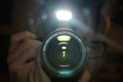 Pentax K200d, Camera, Mirror, Flash, Lens, 67 Mm