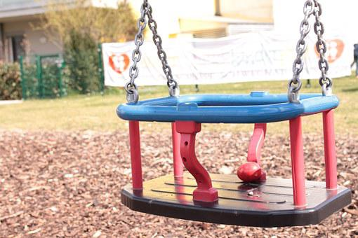 Playground, Children, Play, Child, See Saw, Fun, Swing