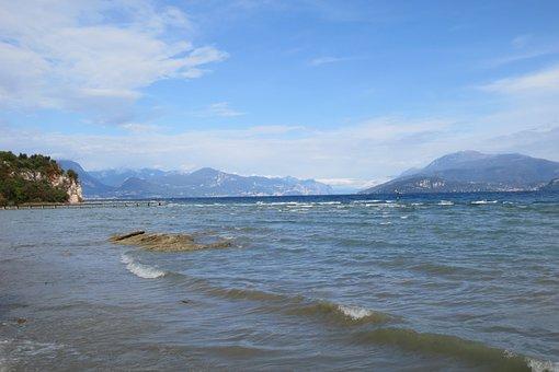 Garda, Lake, Lago Di Garda, Sirmione