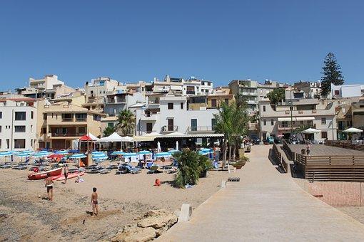 The Pedestrian Area, Selinunte, Sicily, Italy