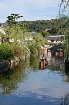 Kurashiki, Okayama, River, Beauty Zone, Japan