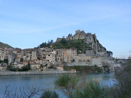 Landscape, Old Town, Citadel, Houses, Roofing