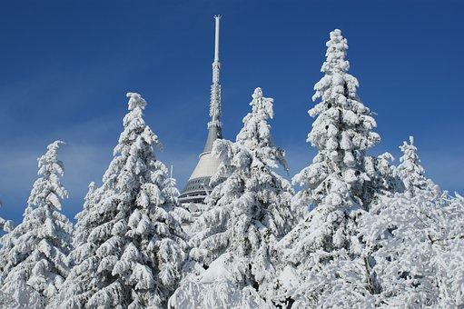 Czech Republic, Liberec, Czech, Republic, Winter