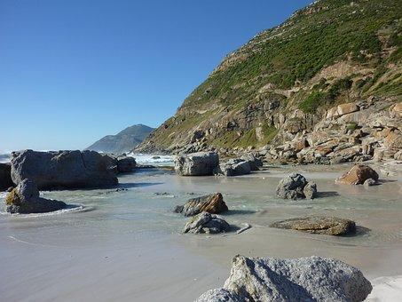 Noordhoek, Beach, South Africa, Sea, Wave, Grinding