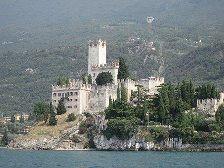 Skaligerburg, Torri Del Benaco, Garda, Lago Di Garda