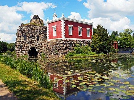 The Dessau-wörlitz Garden Realm, Stone Villa, Garden