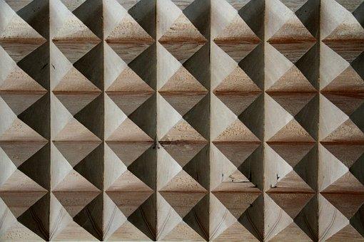 Wood, Texture, Material, 3d, Pattern, Pyraminds