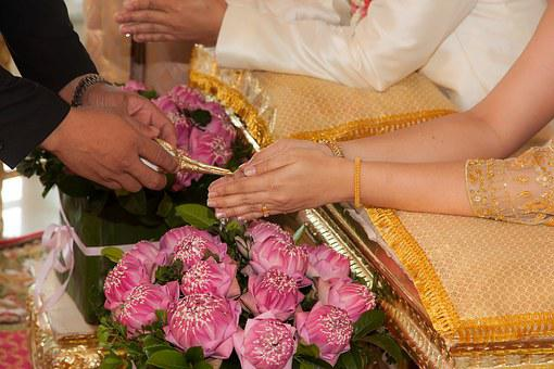 Wedding, Water Relaunch, Culture, Tradition, Thailand