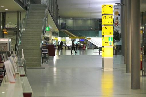 Abflug Hall, Gates, Switch, Check In
