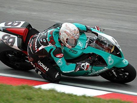 Steve, Martin, Motorcycle, Druids, Racer, Action, Sport