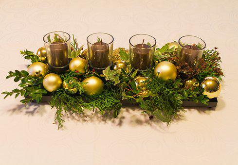 Advent Wreath, Candles, Advent