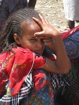 Ethiopia, Ethiopian Girl, Africa