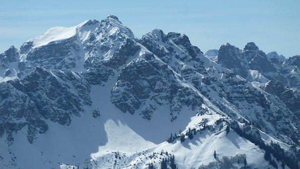 Alpine, Allgäu, Lailachspitze, Litnisschrofen