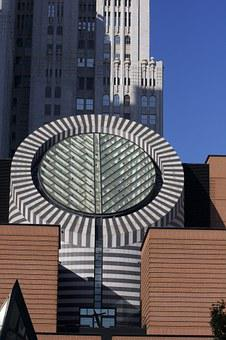 Museum, Moma, Architecture, Glass, Facade, Vitreous