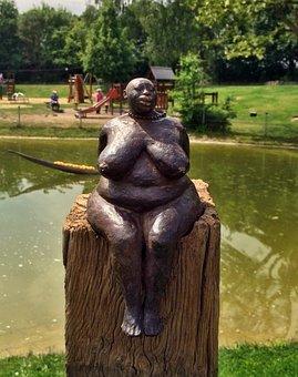 Art, Metal Sculptures, Hockenheim Gartenschau Terrain