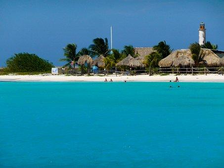 Beach Resort, Beach Huts, Straw Huts, Beach, Vacation