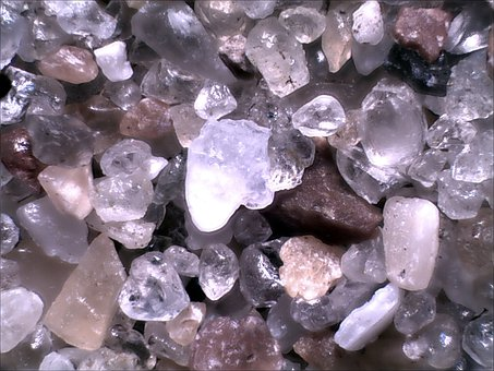 Sand, Microphotograph, Canterberry, Beach