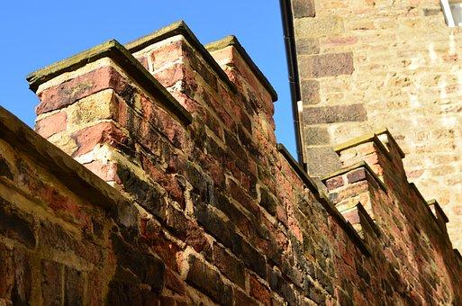Walls, Bricks, Background, Architecture, Constructions