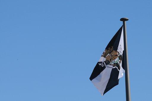 Flag, Portugal, Lisbon, Blue Sky, Pattern Discovery