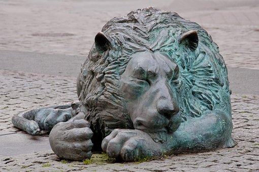 Lion Gdansk, Gdańsk, Trójmiasto, Poland, Brown, Dream