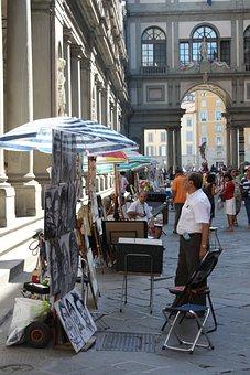 Florence, Street, Etalage, Italy