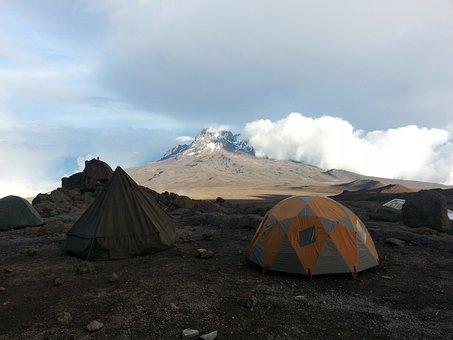 Kilimanjaro, Africa, Tent, Adventure, Kenya, African