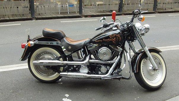 Harley, Motorcycle, Krad